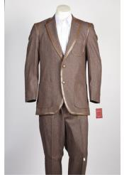 JSM-358 Mens 2 Button 2 Piece Suit