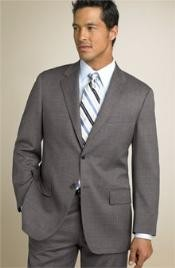 Two Button Mid Gray~Grey(Not