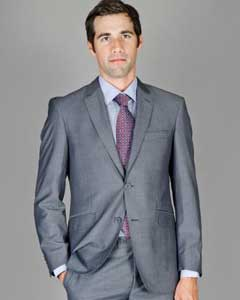 HBT6 Slim narrow Style Fit Grey Stripe ~ Pinstripe