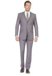 Suit Two Button Three Piece