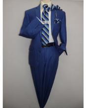 Mens Indigo ~ cobalt blue