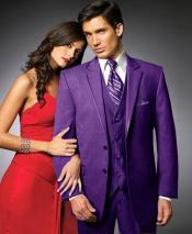 PEG43 2 Btn Suit/Stage Party Tuxedo Satin Trim outlines