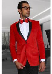 Mens Velvet Fabric Discounted Blazer