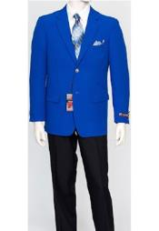 Mens Pacelli Classic Royal Blue