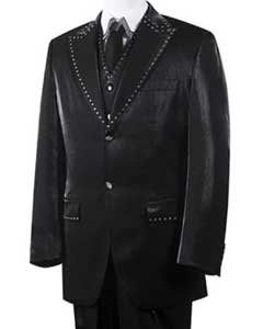 Unique 2 Button Style Tuxedo