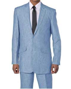 E602-G New 2 Piece Luxurious 100% Linen Suit 2
