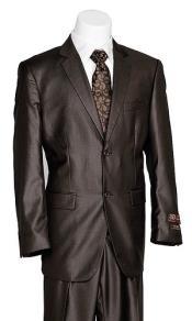 Vitali 2 Button Style brown