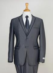 Product#NM2A33PieceSlimnarrowStyleCutSuit-