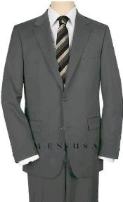 WCS32 UMO High-Quality 2 Button Style Medium Gray Suit