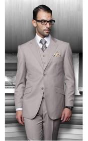 Notch Lapel Two Buttons Side