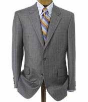 904E Medium Gray 2 Button Style Double Vented Jacket