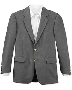 Product#RFJ814All-seasonGrey2ButtonStyleFront4on