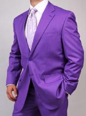 KA1459 Two Button Purple color shade Suit