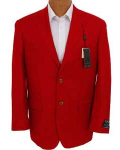 red color shade681 Solid red color shade Sport Coat