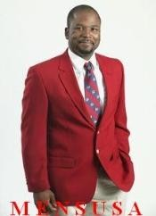 MFE434 red color shade 2 Button Style sport coats/Blazer