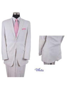 AA557 Mens 2 Piece Linen Causal Outfits Summer Suit