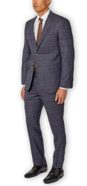 Mens Enzo Tovare Authentic Brand Single Breasted Notch Lapel