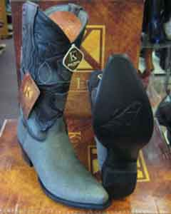 MK959 Genunie Shark King Exotic Snip Toe Western Cowboy