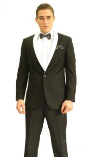 RH8465 3inch White Shawl Tuxedo Clearance Sale Online
