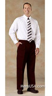R4MM Pleated Slacks Pants / Slacks Plus White Shirt