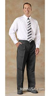 G55V Pleated Slacks Pants / Slacks Plus White Shirt