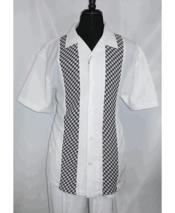 Mens White Short Sleeve 5