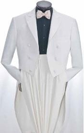 White Tuxedo Suits for