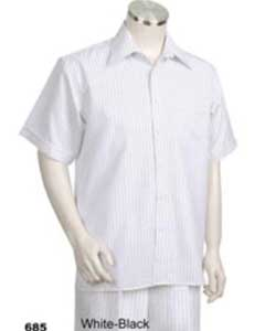 KA4405 Leisure Walking Suit Short Sleeve 2piece Walking Suit