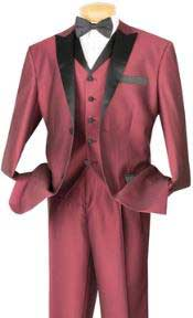 PN_H52 3 Piece High Fashion 1940s Mens Suits Style