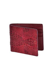 KA3013 Carteras cai ~ Alligator skin Lomo Wallet –