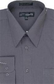 Shirt Dark Grey Masculine