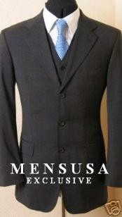 Solid Dark Dark Grey Masculine