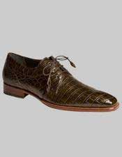 Mens Mezlan Spain Alligator