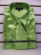 Lime green dress shirt