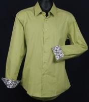 KA6637 Fancy Slim narrow Style Fit Dress Shirt -