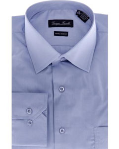 Modern-fit Dress Shirt Blue