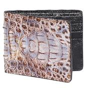 NRT6662 Wallet ~ billetera ~ CARTERAS Natural Genuine Crocodile