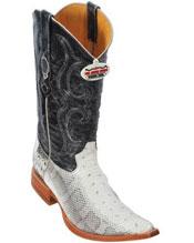 NWC Natural Water Snake Cowboy Boots
