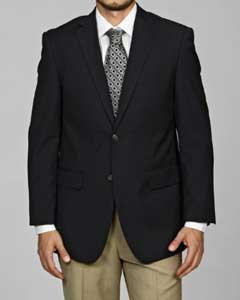 Navy Blue Shade 2-button Blazer