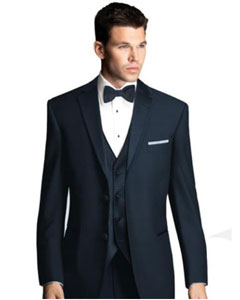 Midnight Navy Blue Shade Tuxedo