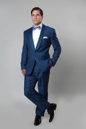Navy Blue Shade Tux