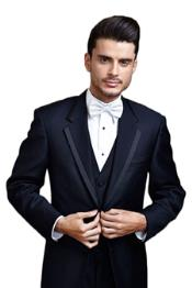 PN-2G Midnight Navy Blue Shade Edge Two Button Tuxedo