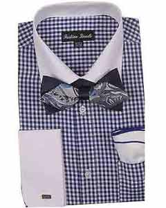 Dress Shirt With Bow Tie
