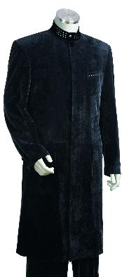 JG7126 Navy Stylish Long Long length Zoot Suit For
