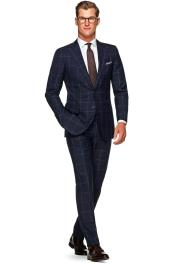 Navy Blue Suit - Navy Suit