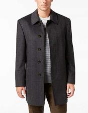 Mens 5 Button Charcoal