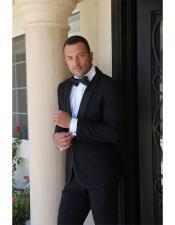 MAN5324 Mens 1 Button Shawl Lapel Dinner Jacket Tuxedo