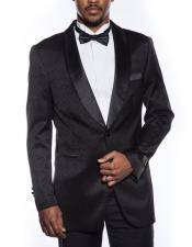 mens black tuxedo jacket fancy