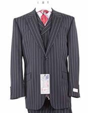 JSM-1438 Mens Tiglio 1 Button 1920s 40s Fashion Clothing