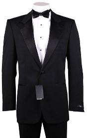 T23 1or2 Button Style Peak Lapel 100% Wool Fabric